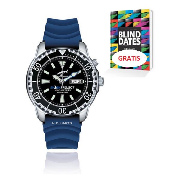 Chris Benz zegarek nurkowy wersja limitowana