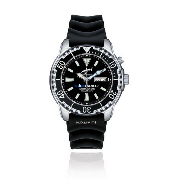 zegarek dla pasjonatów nurkowania stworzony z myślą o rekinach
